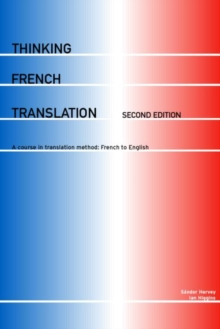 Thinking French Translation, Paperback Book