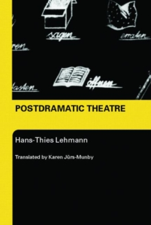 Postdramatic Theatre, Paperback / softback Book