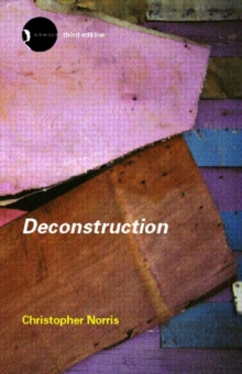 Deconstruction : Theory and Practice, Paperback / softback Book