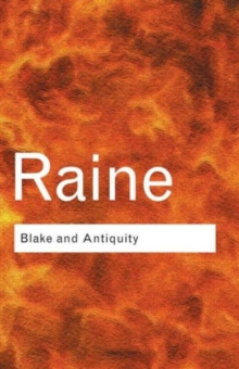 Blake and Antiquity, Paperback / softback Book