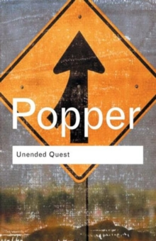 Unended Quest : An Intellectual Autobiography, Paperback / softback Book