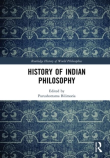 History of Indian Philosophy, Hardback Book