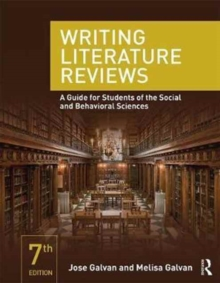 Writing Literature Reviews : A Guide for Students of the Social and Behavioral Sciences, Paperback / softback Book