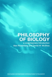 Philosophy of Biology : A Contemporary Introduction, Paperback / softback Book