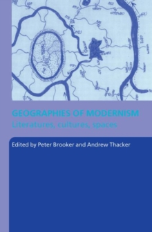 Geographies of Modernism, Paperback Book