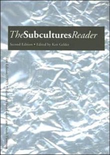 The Subcultures Reader, Paperback Book