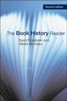 The Book History Reader, Paperback Book