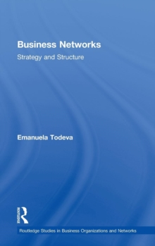 Business Networks : Strategy and Structure, Hardback Book