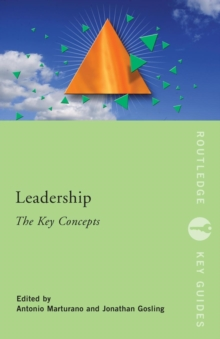 Leadership: The Key Concepts, Paperback / softback Book