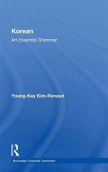 Korean: An Essential Grammar, Hardback Book