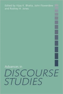 Advances in Discourse Studies, Paperback Book