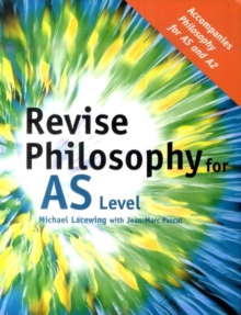 Revise Philosophy for AS Level, Paperback Book
