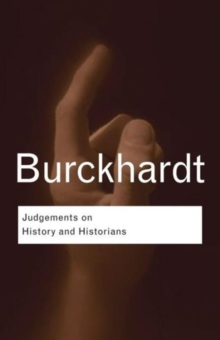 Judgements on History and Historians, Paperback Book