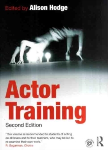 Actor Training, Paperback Book