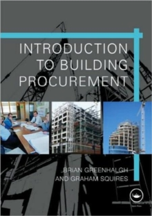 Introduction to Building Procurement, Paperback Book