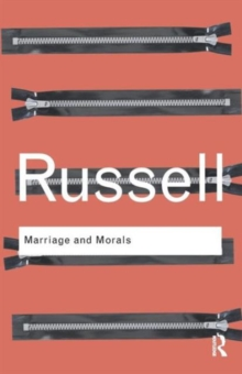 Marriage and Morals, Paperback Book