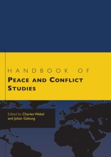 Handbook of Peace and Conflict Studies, Paperback Book