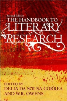 The Handbook to Literary Research, Paperback Book