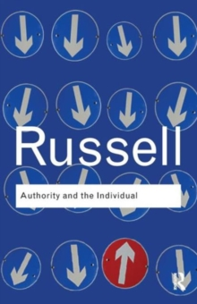 Authority and the Individual, Paperback Book