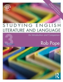 Studying English Literature and Language : An Introduction and Companion, Paperback / softback Book