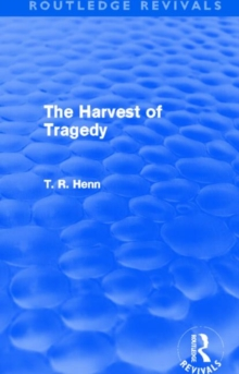The Harvest of Tragedy, Hardback Book