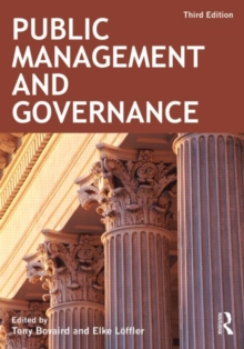 Public Management and Governance, Paperback / softback Book