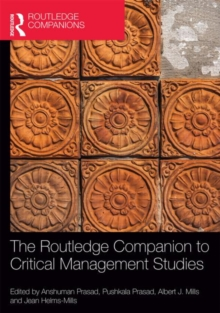 The Routledge Companion to Critical Management Studies, Hardback Book