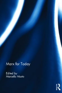 Marx for Today, Hardback Book