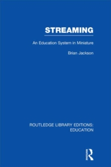 Streaming : An Education System in Miniature, Hardback Book