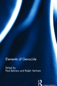 Elements of Genocide, Hardback Book