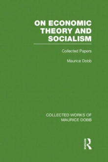 On Economic Theory & Socialism : Collected Papers, Hardback Book