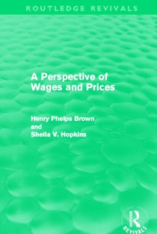 A Perspective of Wages and Prices, Hardback Book