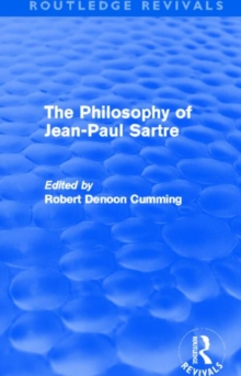 The Philosophy of Jean-Paul Sartre, Hardback Book