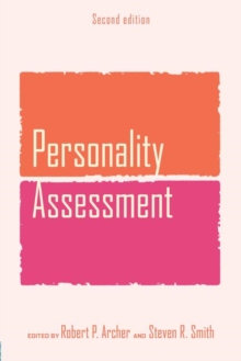 Personality Assessment, Paperback / softback Book