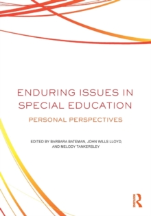 Enduring Issues In Special Education : Personal Perspectives, Paperback / softback Book