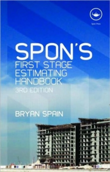Spon's First Stage Estimating Handbook, Paperback / softback Book