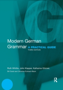 Modern German Grammar : A Practical Guide, Paperback Book