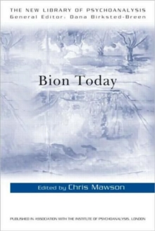 Bion Today, Paperback Book