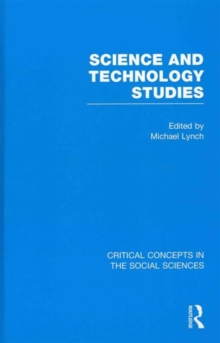 Science and Technology Studies, Hardback Book