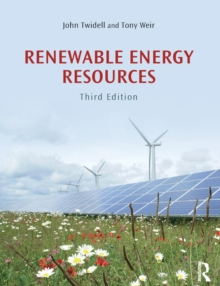 Renewable Energy Resources, Paperback Book