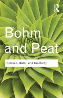 Science, Order and Creativity, Paperback Book