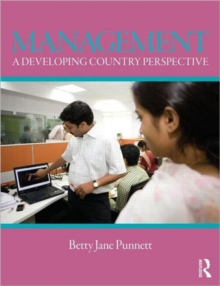 Management : A Developing Country Perspective, Paperback / softback Book