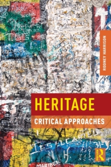 Heritage : Critical Approaches, Paperback / softback Book