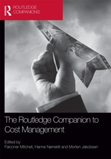 The Routledge Companion to Cost Management, Hardback Book