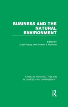Business and the Natural Environment, Hardback Book