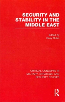 Security and Stability in the Middle East, Hardback Book