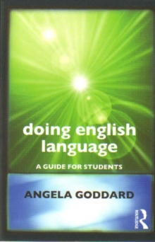 Doing English Language : A Guide for Students, Paperback / softback Book