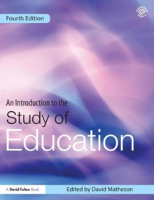 An Introduction to the Study of Education, Paperback Book