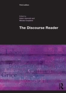 The Discourse Reader, Paperback / softback Book