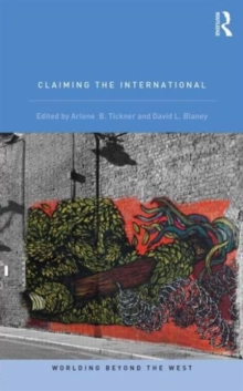 Claiming the International, Paperback / softback Book